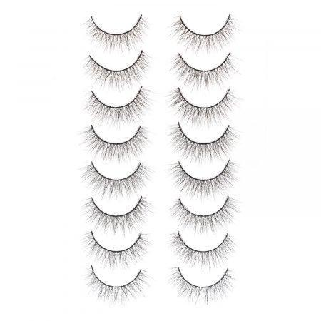kit PRO LASHES COLLECTION clear silk (VIP91)